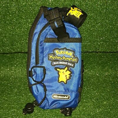 Pokemon Mystery Dungeon Pikachu Nintendo 3DS Carrying Case / Pouch Blue