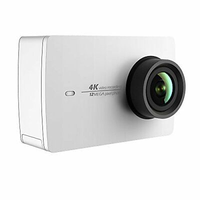 YI 4K Action and Sports Camera, 4K/30fps Video 12MP Raw Image with EIS, White