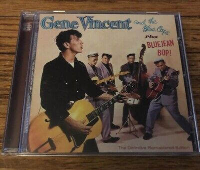 6771580e031 GENE VINCENT   the BLUE CAPS sealed Blue Jean Bop LP 1st album ...