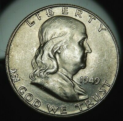 1949 D Franklin Half Dollar - BU !!