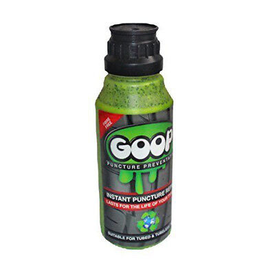 GOOP 500ml Puncture Repair Sealant Tubed Tubeless Tyre + FREE gift!