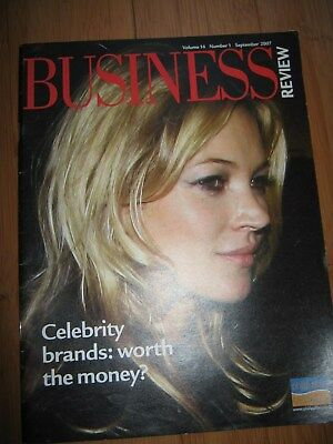 Business Review Mag 2007 Kate Moss Celebrity Brands Game Group Plc Facebook