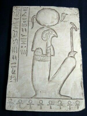RARE ANCIENT EGYPTIAN ANTIQUE HORUS SIT Stella 1428-1125 BC