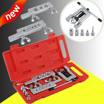 45 Degree Traditional Extrusion Type Flaring & Swaging Tool Kit W/ Carrying Case