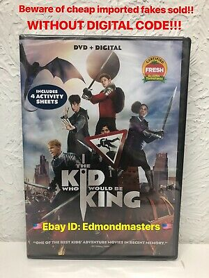 The Kid Who Would Be King DVD + Digital (Beware of Fakes w/o Digital Inserts)