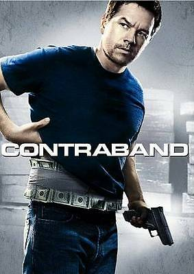 Contraband (DVD, 2012) Mark Wahlberg   NEW/SEALED