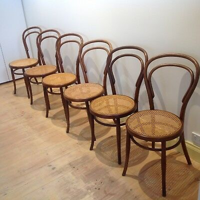 Bentwood Chairs - all made by Josef Hofmann in Austria