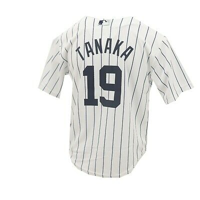5a7dcc7a3 New York Yankees MLB Majestic Cool Base Youth Kids Size Masahiro Tanaka  Jersey