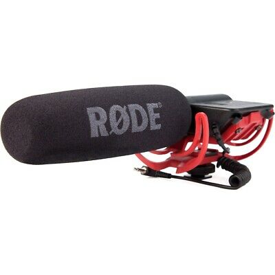 Rode VideoMic Directional Video Condenser Microphone w/Mount (US Authorized Dea