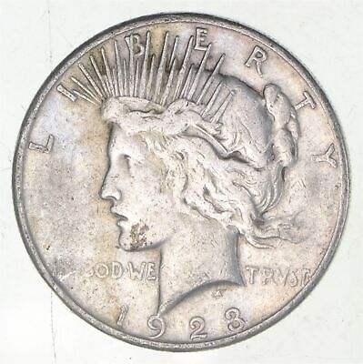 Early - 1923-S - Peace Silver Dollar - 90% US Coin *725