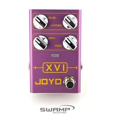JOYO R-13 XVI Polyphonic and Suboctave Octave Guitar Effect Pedal - R-Series