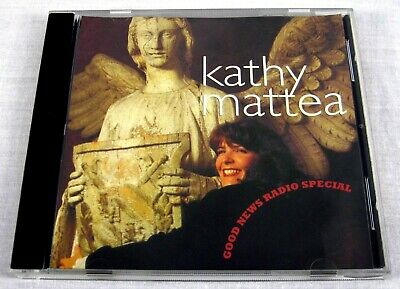 Kathy Mattea 1994 Good News Radio Especial Promo Sampler CD País Raro Mt / (NM)