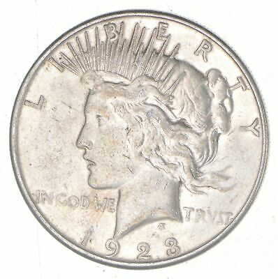Early - 1923-S - Peace Silver Dollar - 90% US Coin *704