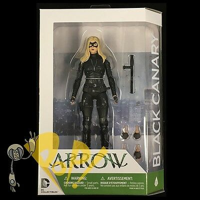 "ARROW Season Three BLACK CANARY TV Show 6.75"" Action Figure DC Collectibles NEW!"