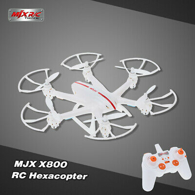 MJX X800 RC Hexacopter Multicopter 2.4G 6 Axis Gyro 3D Roll Bianco per Gift G0T7