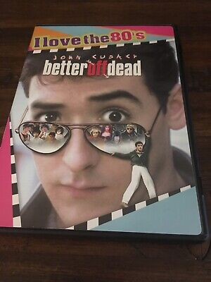 Better Off Dead DVD (Widescreen Collection) with John Cusack