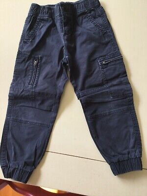 Country Road Boys Size 4 Navy Blue Cargo Pants