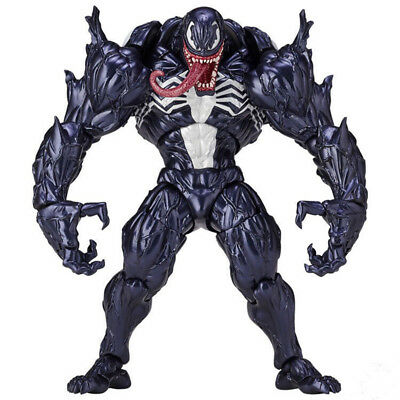 Spider-Man Venom Revoltech Series Marvel Hero Action Figure Model Toys Kids Doll
