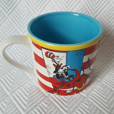 b0a3a694 DR. SEUSS THE Cat in the Hat Shaped Plastic Flip-Top Mug Figurine ...