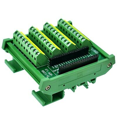 DIN Rail Mount Screw Terminal Block Breakout Module Board for Arduino Nano/Micro