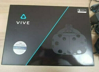 HTC Vive Virtual Reality VR Headset System