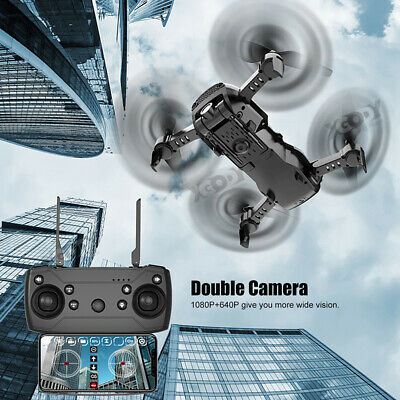 Drone X12S Selfie With 1080P HD Dual Camera FPV Quadcopter Gesture Follow Me Toy