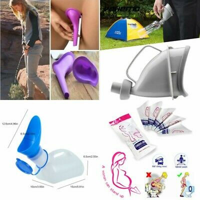 Portable Urinal Toilet Funnel Camping Travel Stand Pee Device Disposable Unisex