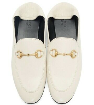 a05c828ed GUCCI Brixton horsebit-detailed leather collapsible-heel loafers size 39.5  (7)