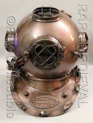 Nautical US Navy Diving Divers Helmet Full Mourse Reproduction Replica Gift Item