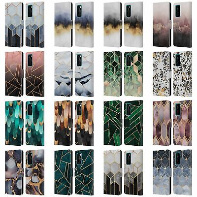 Official Elisabeth Fredriksson Sparkles Leather Book Case For Huawei Phones