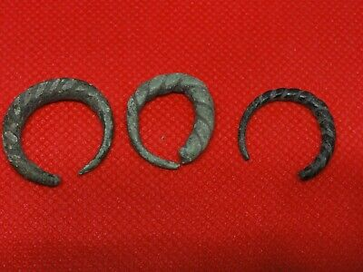Ancient Viking Bronze  Ring   Kievan Rus 10-12 century AD 4