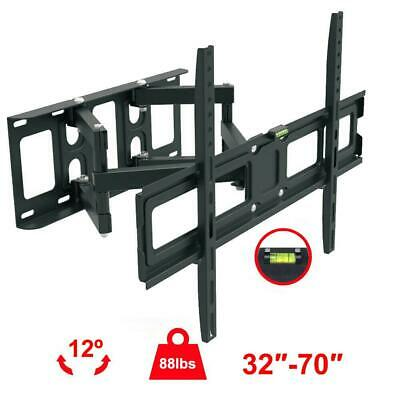 Full Motion HDTV TV Wall Mount VESA Bracket 32 42 46 50 55 60 65 70 inch LED LCD