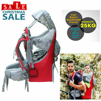 f603486b11c CLEVR BABY BACKPACK Camping Hiking Child Kid Toddler Carrier Shade ...