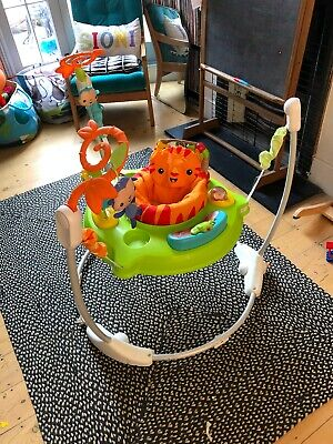 fisher price rainforest jumperoo nearly new
