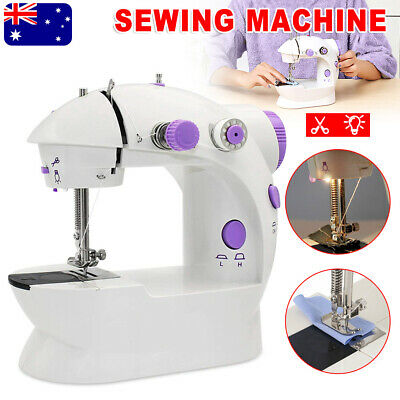 Electric Mini DIY Multi-Function Hand Held Desktop Sewing Machine Stitch Clothes