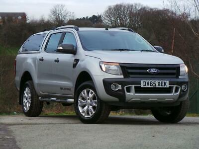 2015 Ford Ranger Pick Up Double Cab Wildtrak 3.2 TDCi 4WD Diesel silver Manual