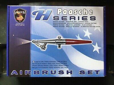 "Paasche Air brush ""HS set"" - never used but opened package"