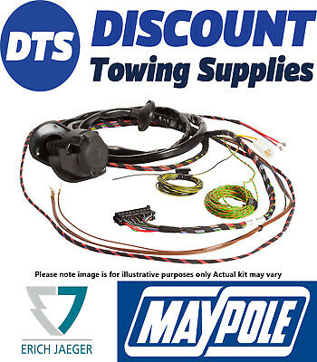 Jaeger 13 Pin Towbar Dedicated Wiring Kit for CITROEN C4 Picasso  02.07 - 05.13