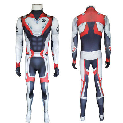 NEW Avengers 4 Endgame Quantum Realm costume Advanced Tech Hoodie Cosplay GIFT