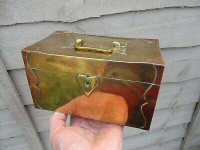 A Fine Victorian Arts & Crafts Brass & Copper Box c1880/1900