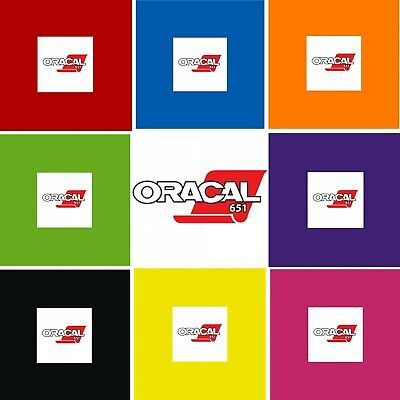A4 Vinyl Sheets - Oracal 651 - Self Adhesive - Matte -  Polymeric - Every Colour