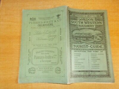London and South Western Railway Illustrated Tourist Guide 1880
