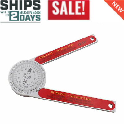 Saw Protractor Miter Cutting Ceiling Crown Molding Angle Finder Carpenter Tool