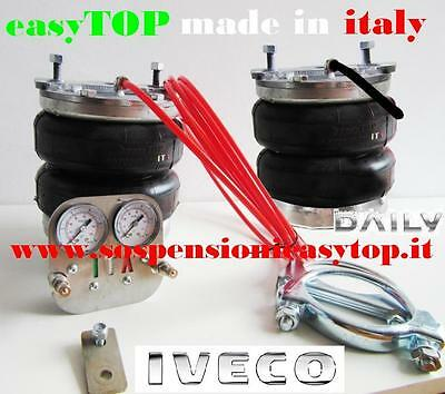 PNEUMATIC AIR SUSPENSION KIT airspring CAMPER VAN IVECO DAILY double wheels