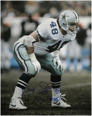 5182d1c0d Daryl Johnston Hand Signed Autographed 16x20 Photo Dallas Cowboys 3X SB  Champ