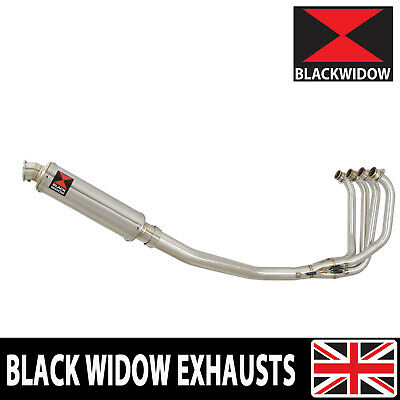 KAWASAKI ZRX 1200 Full Exhaust System 350mm Round Stainless Silencer SN35R