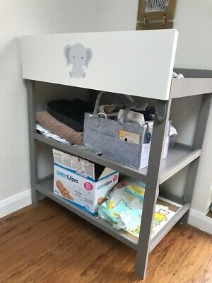 Mothercare Panel Baby Changing Dresser Station Unit Table 3 Levels