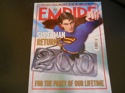Eric Bana, Claire Danes, Superman Returns - Empire Magazine 2006