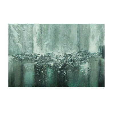 Abstract Waterfall Hand Painted Art Oil Painting Canvas Modern Home Decor Framed