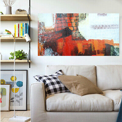 Pure Hand Painted Modern Art Canvas Oil Painting Home Decor Framed Nostalgic